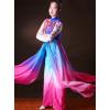 中国风现代演出服装现代表演服现代舞台女装少数民族舞蹈服批发