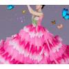 2019新款花开盛世舞蹈表演服装歌伴长裙舞台装开场舞大摆裙演出服