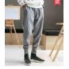 春秋季汉服唐装古风休闲裤中国风男装棉麻裤子男古装民族服装裤子