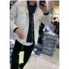 钟文服装店19冬季男韩版日系休闲假两件格子羽绒服中长款加厚外套