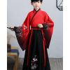 儿童汉服小男孩古装中国风超仙男童少爷服国学服表演出服装春秋季