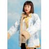 西藏藏风衬衣藏装女 上衣藏袍藏族衣服女民族风服装 冬季加绒